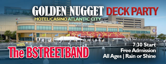 July 29 – Thursdays at Golden Nugget Casino Deck