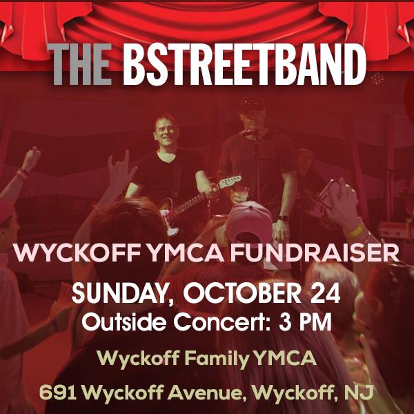Sun. Oct. 24 – Wyckoff Family YMCA Fundraiser