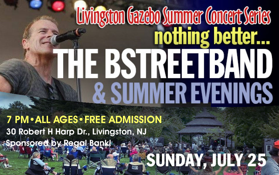 Sun July 25 – Livingston Township Summer Concert (no Jenks)