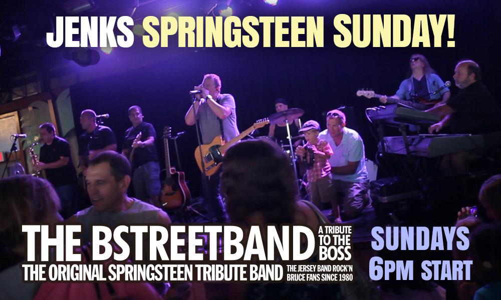 Sundays  – Jenks Club, Pt. Pleasant Beach, NJ