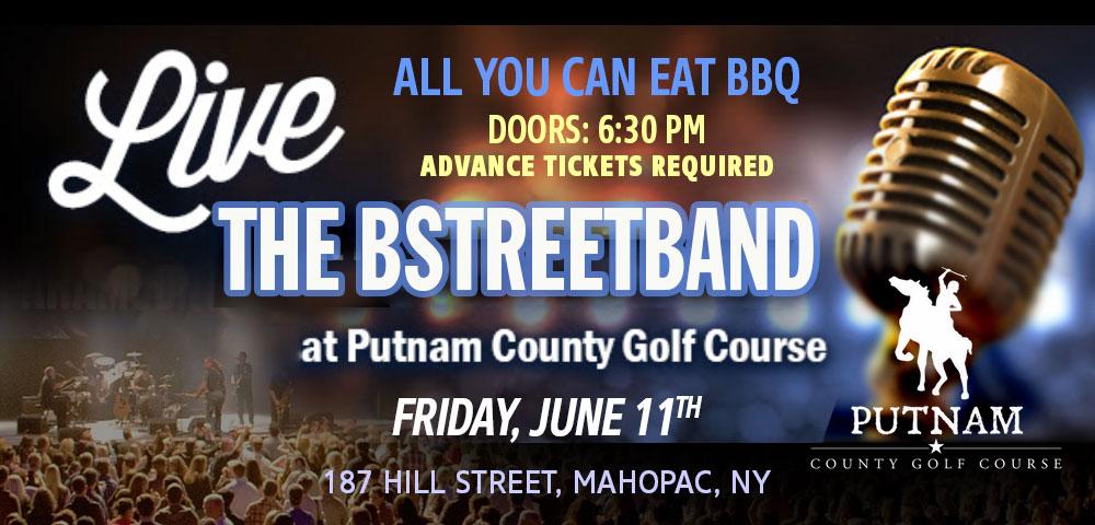 Fri June 11 – Putnam County Golf Course, Mahopac, NY
